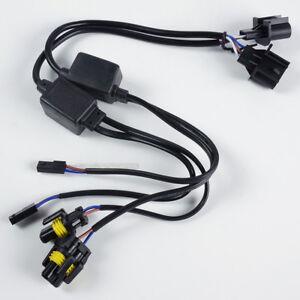s l300 2pc h13 9008 easy relay harness hi lo bi xenon hid conversion kit