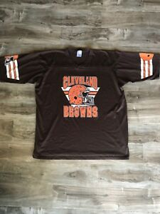 Image is loading Vintage-Cleveland-Browns-T-Shirt-Dawg-Pound-Baker- b8b61787b