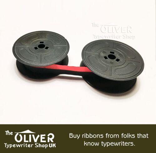 Schwarz oder Schwarz//Rot Olivetti Lettera 32 Or 36 Schreibmaschine Farbband