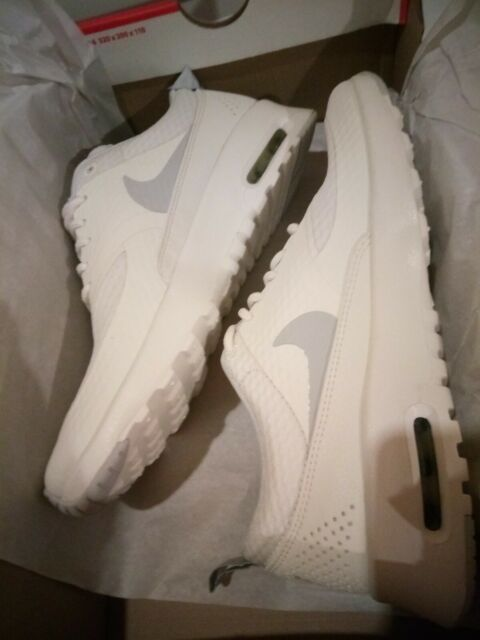 Women's Nike Air Max Thea Txt Summit White Pure Platinum 819639 101
