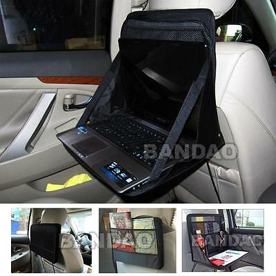 Car Laptop Holder Tray Bag Mount  Back Seat Auto Table Food work desk Organizer