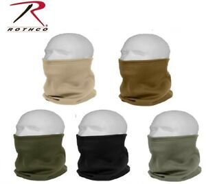c5a76c57c99 Image is loading Military-Style-ECWC-Poly-Fleece-Neck-Gaiters-Neck-