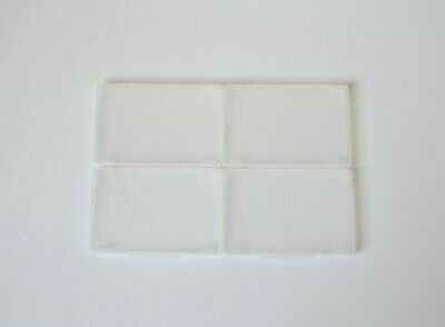 Plastic Credit Card Pocket Wallet 4 Clear Wallets Business Card Holders x 4