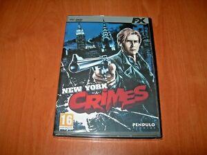 NEW-YORK-CRIMES-PC-EDICIoN-ESPANOLA-PRECINTADO
