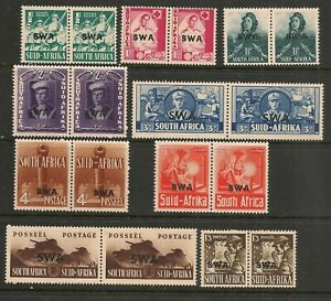 South-West-Africa-1941-War-Effort-Set-Mint-Hinged