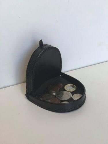 NUOVO Unisex Originale Vera Pelle Grande Coin vassoio borsetta//Astuccio per monete e banconote