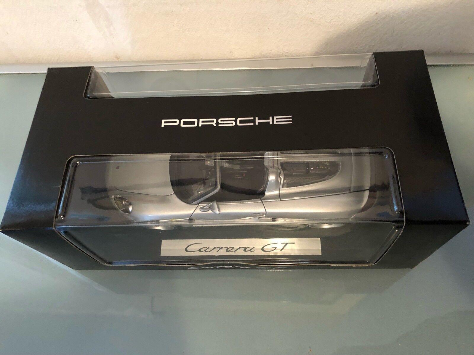 1 18 Promo lim ed PORSCHE CARRERA GT Maisto for Dealer rare model hi details 2