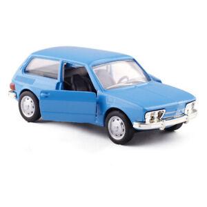 1-43-Brasilia-1973-74-Die-Cast-Modellauto-Auto-Spielzeug-Geschenk-Kinder-Blau