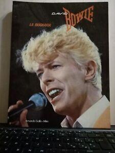 LIBRO DAVID BOWIE LA BIOGRAFIA - Armando Gallo - 1983 - nuovo