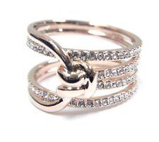 Lifelong Wide Ring White Rose Gold Size 8 EUR 58 2018 Swarovski Jewelry  5402440