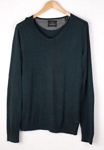 SCOTCH-amp-SODA-Men-Casual-Knit-Jumper-Sweater-Size-M-ATZ1074