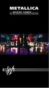 METALLICA-034-S-amp-M-WITH-SAN-FRANCISCO-SYM-034-2-DVD-NEUWARE