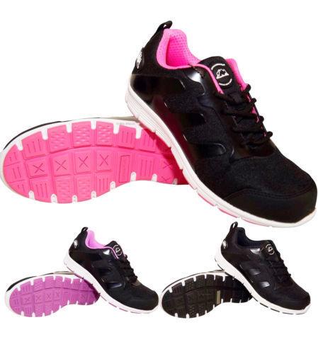 100% De Qualité Mesdames Groundwork Safety Steel Toe Cap Cuir Travail Chaussures De Randonnée Baskets Taille Acheter Maintenant