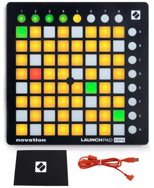 novation launchpad mini mk2 mkii midi dj ableton controller m audio headphones for sale online. Black Bedroom Furniture Sets. Home Design Ideas