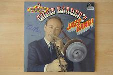 """Chris Barber Autogramm signed LP-Cover """"Chris Barber´s Jazz Band"""" Vinyl"""