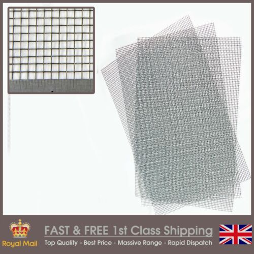 Heavy #6 Mild Steel Mesh 3.5mm Hole 3 PACK = A3 420 x 300mm x 3 0.71mm Wire