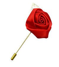 Da uomo Spilla Per Blazer per Giacca in Rosa Rosso - Matrimonio Regalo