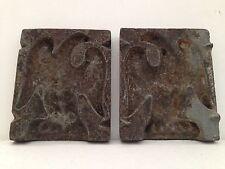 Diminutive Antique Cast Iron Eagle Mold Chocolate? Americana Estate Find