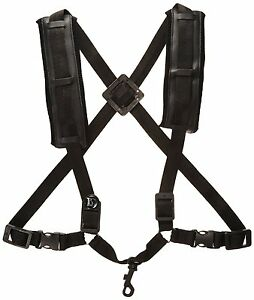 BG-S40CSH-Men-039-s-Alto-Tenor-Saxophone-Comfort-Harness-with-Snap-Hook