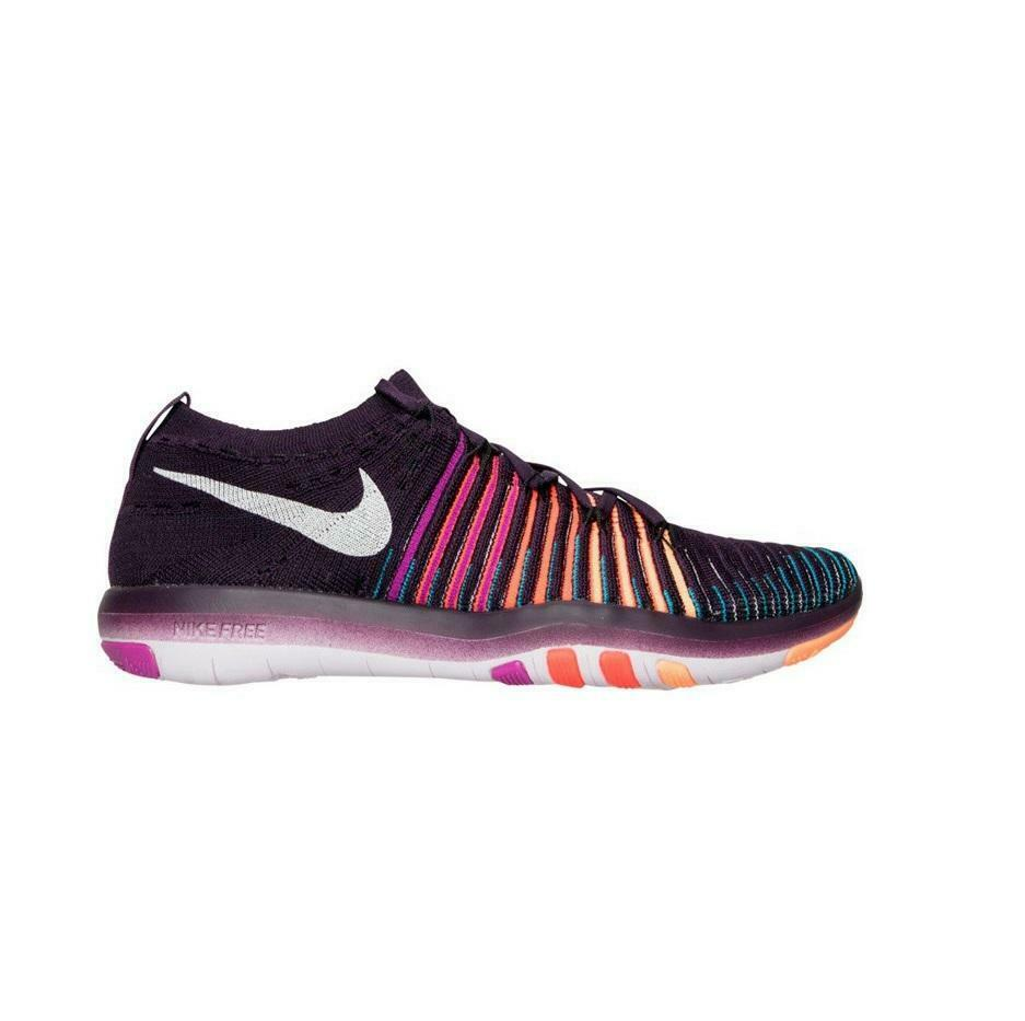damen NIKE FREE TRANSFORM FLYKNIT lila Trainers 833410 500
