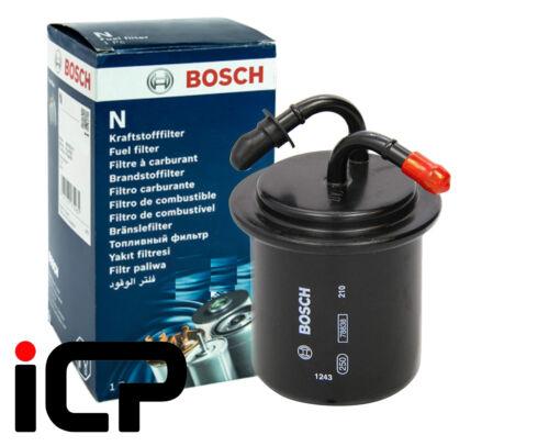 Bosch Filtro de combustible adapta a Subaru Forester Turbo 96-05 XT Sti S Turbo S//tb