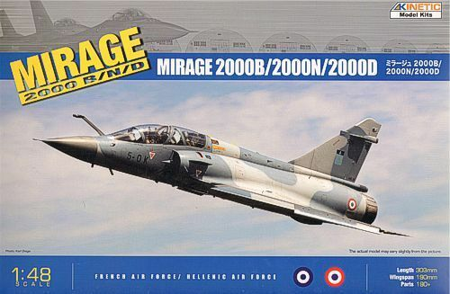 Kinetic 1 48 Mirage 2000B N D