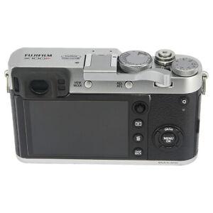 Haoge-Thumbs-Up-empunadura-de-forma-segura-para-Fujifilm-Fuji-X100F-X-Pro2-Xpro-2-Plata