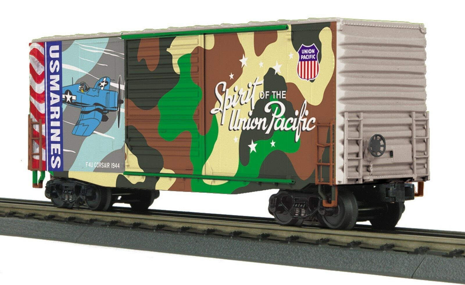 30-74926 Union Pacific (Marines - Spirit of Union Pacific) 40' High Cube Box Car