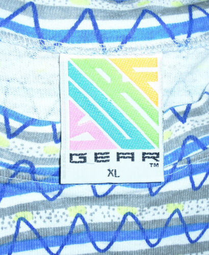 Zag Print Surf Graphic 90s Wear Abstract shirt Zig T Gear Vintage Street Luid Xl clKJTF1