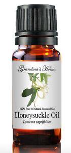 Honeysuckle Essential Oil 10 mL - 100% Pure - Therapeutic Grade - Grandma's Home