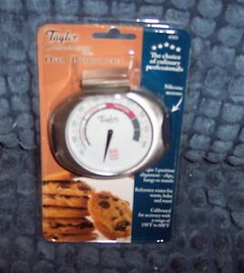 NEW-TAYLOR-CONNOISSEUR-SERIES-OVEN-THERMOMETER-LARGE-DIAL-3-POSITION-ALIGNMENT