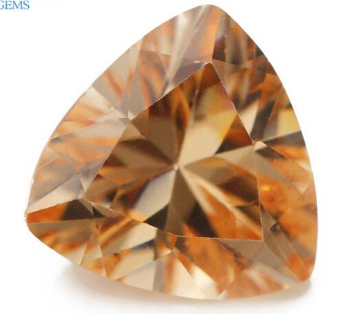 8X8MM 3.03CT NATURAL billones champán Circón AAAAA Diamante Corte Vvs Gemas Sueltas