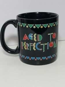 Ceramic-Mug-Coffee-Cup-Aged-to-Perfection-American-Greetings-Designers-Stoneware
