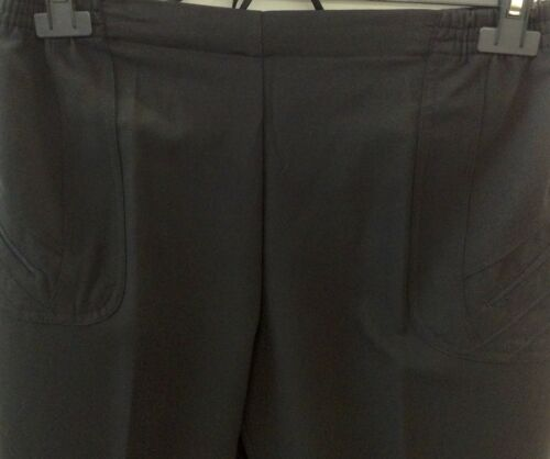 Beige,Weiß und Grau Damen Schlupfhose 7//8 Caprihose Strechhose Gr.40-56 Schwarz