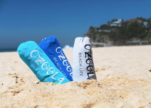 OZoola Beach Tent with Sandbags UPF 50 Sun Protection