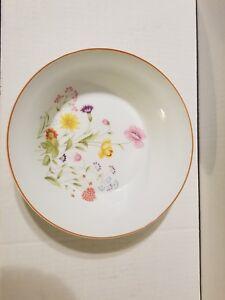 Stratford-Mikasa-Japan-Fine-Porcelain-China-Bowl-L9008-Summer-Melody