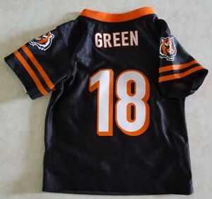 AJ GREEN Kids Jersey Size 12 or 18 Months Cincinnati Bengals Home  free shipping
