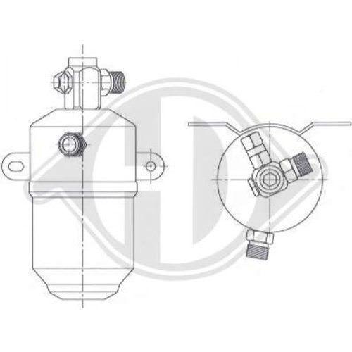 aire acondicionado Mercedes-Benz SLK dct1150 Mercedes-Benz SLK Diederichs secadora