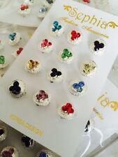 New 12 Pcs Beautiful Multicolour Brooch Hijab Scarf Hat Pin Rhinestones RRP£12