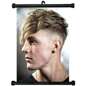 sp217035 Hairstyles Wall Scroll Poster For Barber Shop Salon Haircut ...