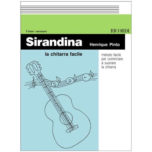 H. Pinto Ricordi Sirandina La Chitarra Facile