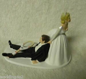 tennis wedding cake topper wedding ceremony reception sport tennis racket 20798