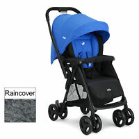 Joie Blue Mirus Scenic Stroller 2 Way Facing Pushchair Birth+ Baby Buggy