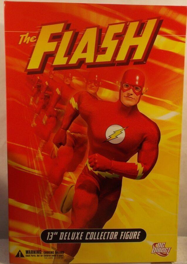 DC El Flash 13  Deluxe 1 6 Direct Escala Edicion Coleccionista TV Barry Allen Sellado