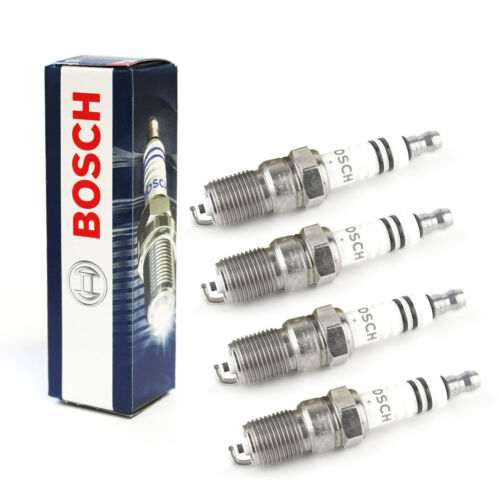 4x SKODA OCTAVIA 1z5 1.4 ORIGINALE BOSCH SUPER PLUS SPARK PLUGS