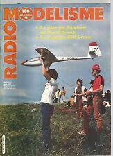 RADIO MODELISME N°180 YAMAHA 250 CROSS / LA PUMA / LE RAINBOW / BOITE NOIRE