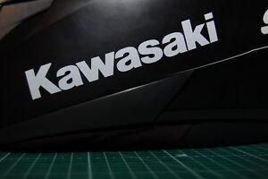 Details Zu Kawasaki Motorrad 2 Reflektierende Aufkleber Helmaufkleber Reflex 0016