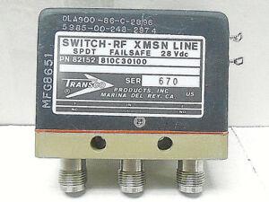 810c30100 transco r f switch attenuator new old stock ebay rh ebay com RF Attenuator Schematic RF Attenuator Circuit