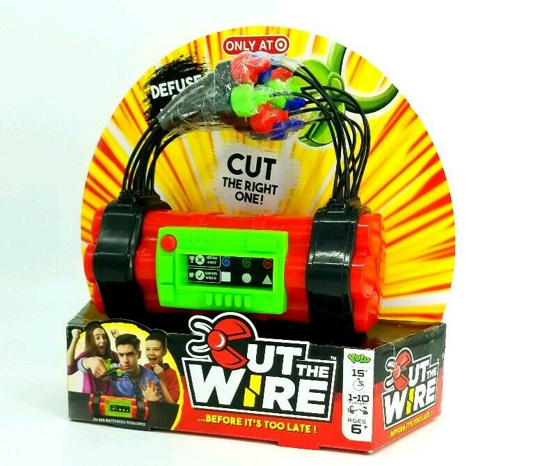 Cut The Wire ...Before It's Too Late - Family Game- New In Box