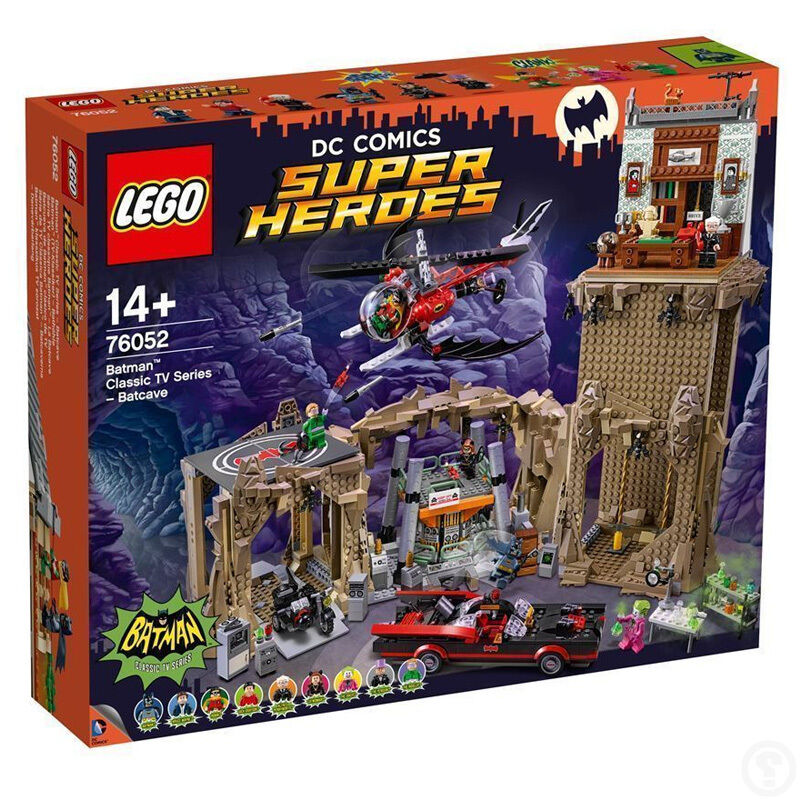 LEGO DC Comics Super  Heroes Bathomme Classic TV Series – Batcave 76052  magasin d'usine de sortie